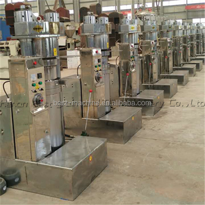 cold oil press/ hydraulic olive/sesame/peanut/coconut/copre oil press machine for sale