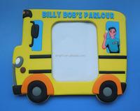 Billy Bob's Parlour Bus Design 3D Resin Photo Frame