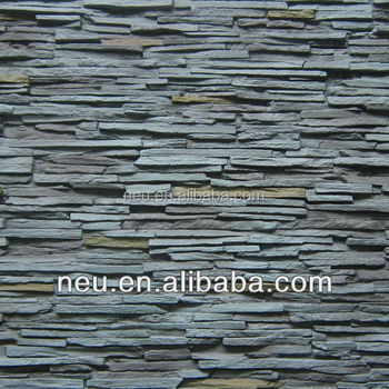 Hot Stone Paneling Multi Layer Rock Panel Marble Slab Sandstone Slate Wall Tile Artificial Pu Foam