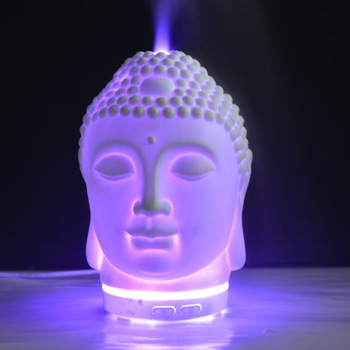100ml white budda porcelain electric ulatrasonic essential oil diffuser factory
