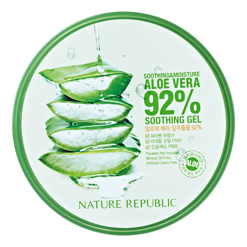 [Nature Republic] ALOE VERA 92% Soothing Gel Korean cosmetics