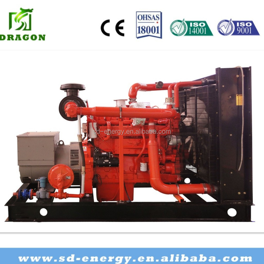 10-1000kw nature Gas Generator with engine Parts for Sale good price biogas biomass gas power plant