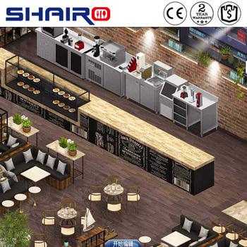 coffee shop kitchen design. Free 3D Design Commercial Hotel Restaurant Coffee shop Bar Kitchen Equipment 3d restaurant coffee Shop bar