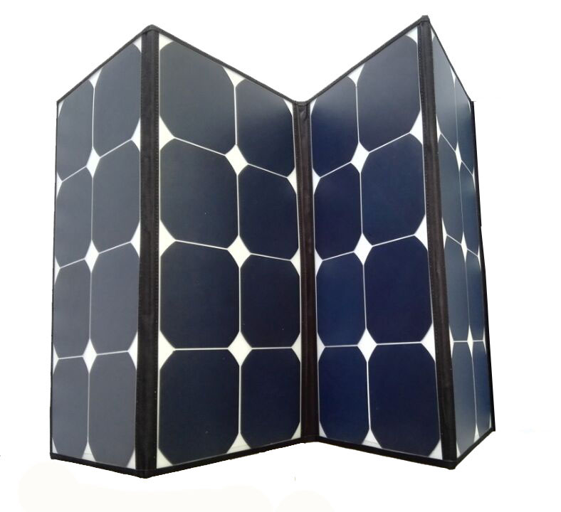 Portable 12v 60w 100w 120w Folding Solar Panel Charger For