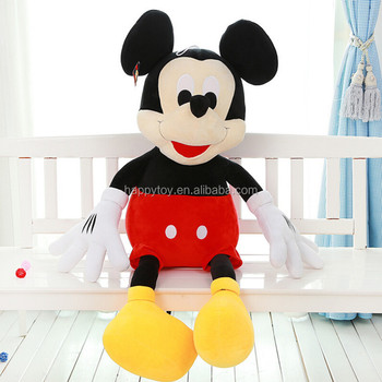 4192af834d9 HI CE 2017 soft plush Mickey and Minnie mouse toy for valentines day gift  with greeting