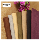 Packaging Customization [ Manufacture Lot ] Faux Suede Fabric China Manufacture Knit Microfiber Faux Suede Stock Lot Fabric For Sofa And Cushion