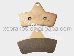 sintered bronze motorcycle brake pads FA271suitble for ARCTIC
