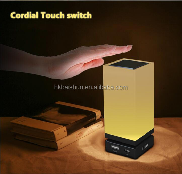 Promotional Gift powerbank charger led light function BAISHUN NINA