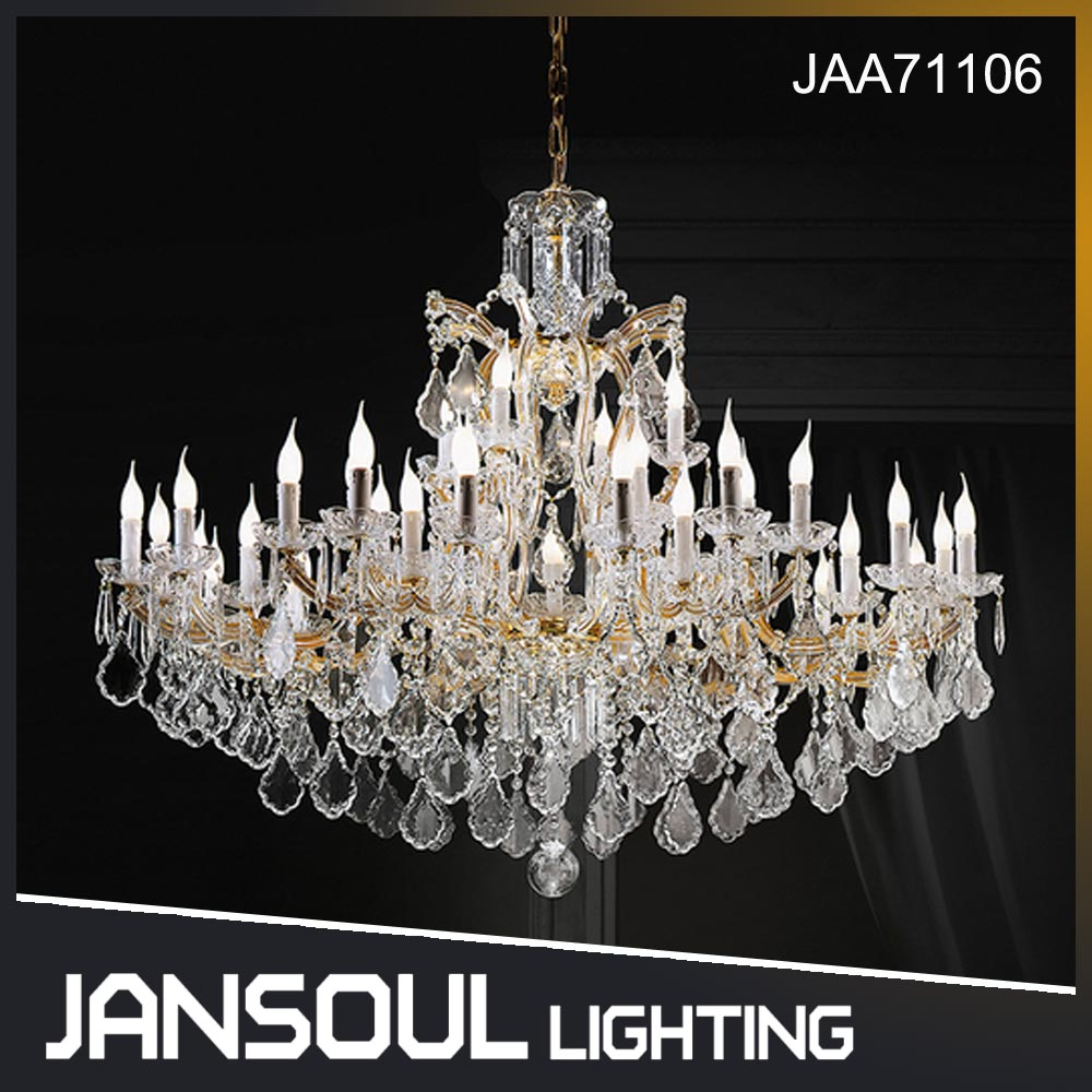 JANSOUL new popular France design crystal drops lamps handing chandelier for sale