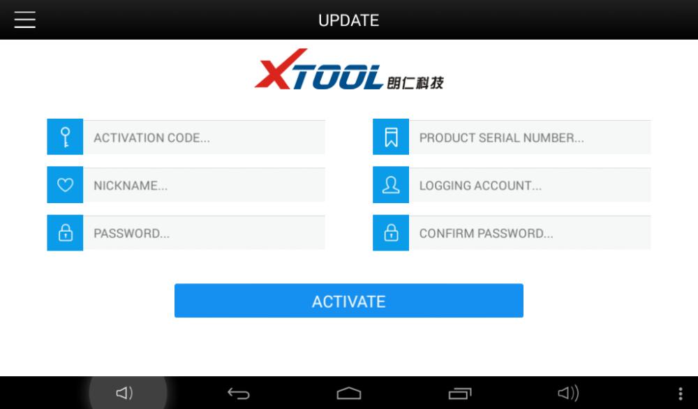 Xtool X100 Pad All Car Diagnostic System Odometer