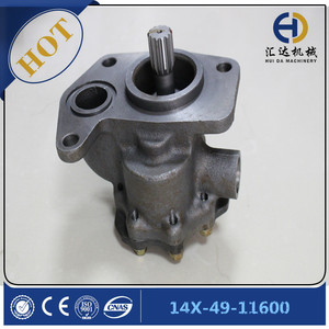 14X-49-11600 hydraulic gear pump for D65PX-12 dozer machine