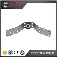 Ventilation System Galvanized Steel Duct Holder U Type with Rubber Vibration Isolator UH