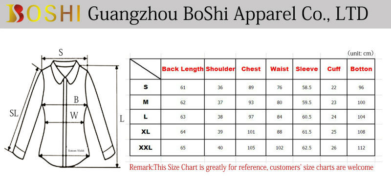 Fashion custom design ladies shirts cutting with competitive price