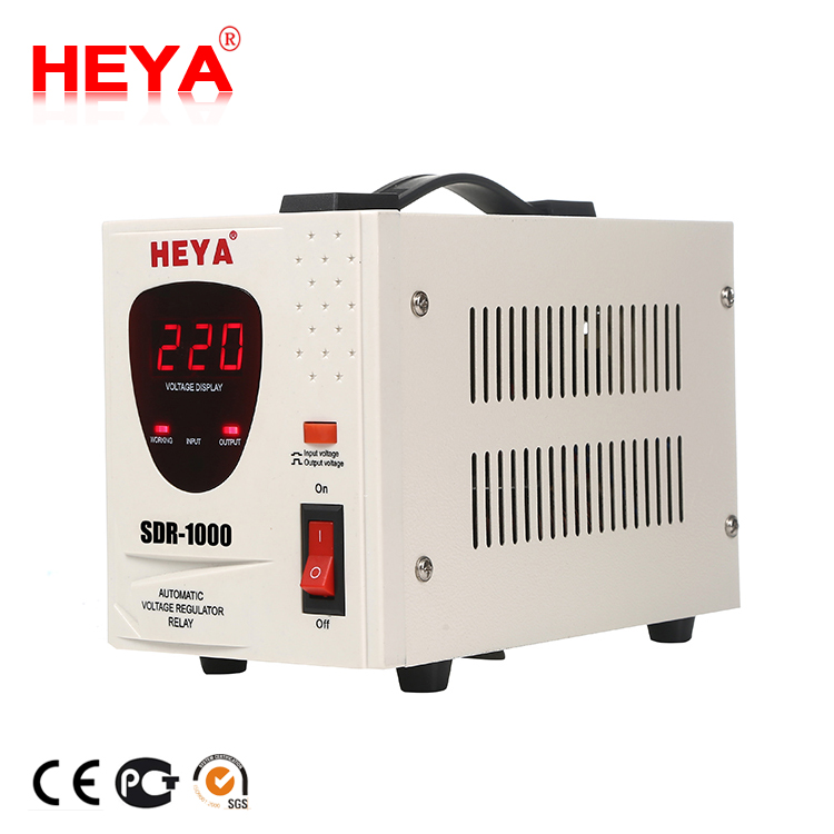 Single Phase 1kva Relay Type 230V Automatic AC Universal Stabilizer/Refrigerator Voltage Regulator