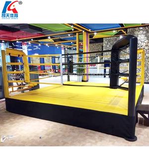 Used land thai wrestling mma floor boxing ring