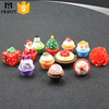 wholesale christmas cupcake cute fancy lip balm container