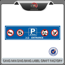 Custom logo Reflective Traffic Sign for Road Safety