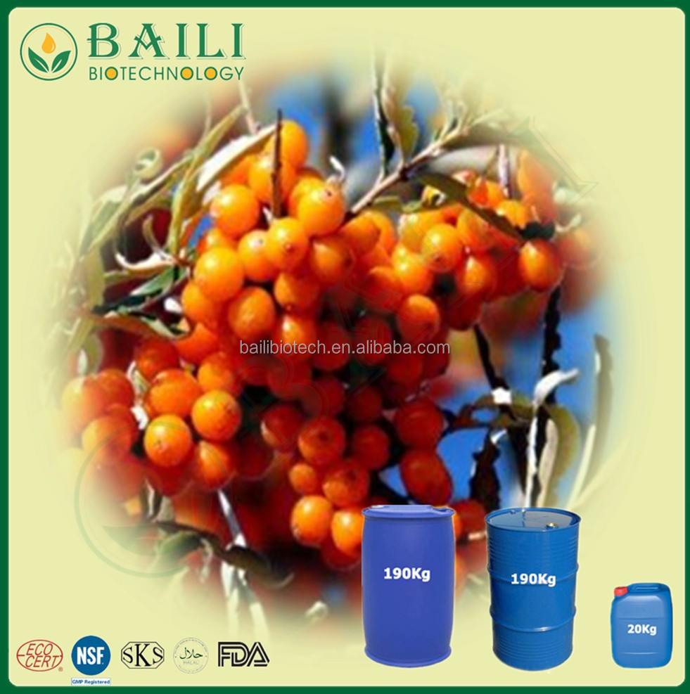Supply Pure Seabuckthorn Seed Oil Fighting infection Promoting HealingSea Buckthorn Oil in Bulk reduces blood pressure