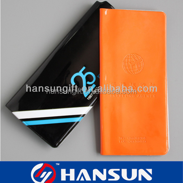 new trendy fashion travel wallet passport pvc
