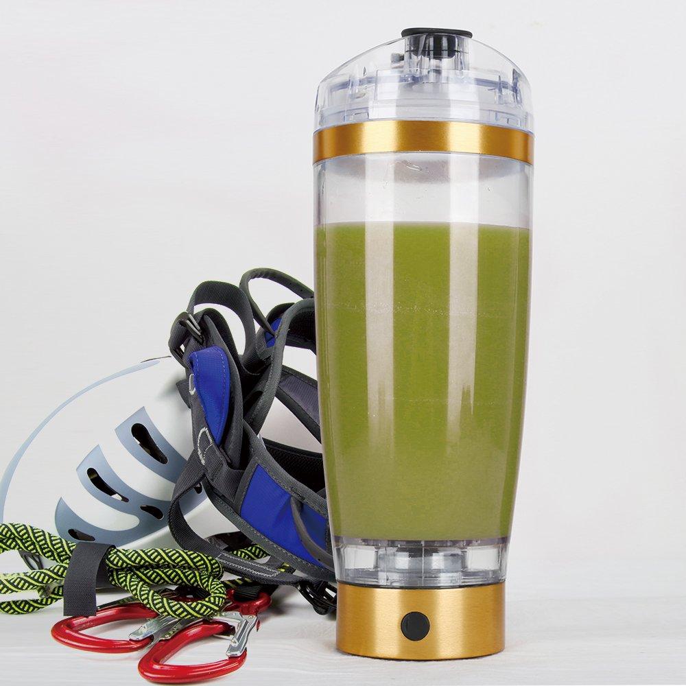 Portable Vortex Shaker Mixer Protein Juice Drink Bottle Battery Electric 16oz
