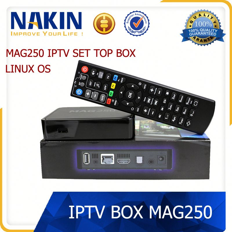 2017Best Selling mag 250 Linux arabic IPTV Box MAG250 HD mag250 +1 Year European IPTV mag250 for option european arabic iptv box
