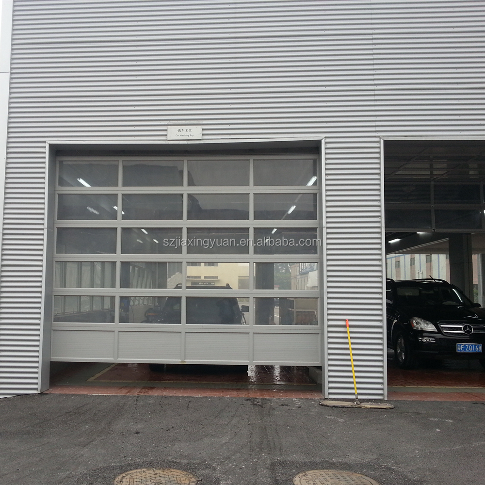 garage with doors screens door automatic retractable opening rollup side for sliding garages panels screen up roll