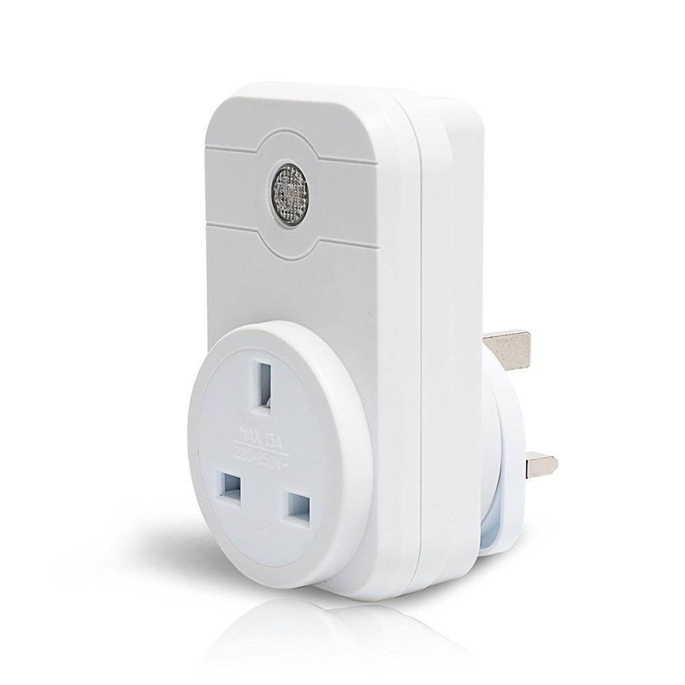 UK Version Smart wifi Plug, Works with amazon echo,Google HOME,Control your Devices from Anywhere, Anytime,Timer, countdown