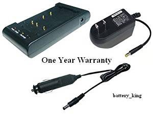 Camcorder Battery Charger for PANASONIC VZ-LDS15, NV-3CCD1, NV-61, NV-63, NV-G1, NV-G101, NV-G101A, NV-G120, NV-G2, NV-G200, NV-G202, NV-G202A, NV-G220, NV-G3, NV-G303, NV-G3A, NV-M810, NV-M810PX, NV-MS70