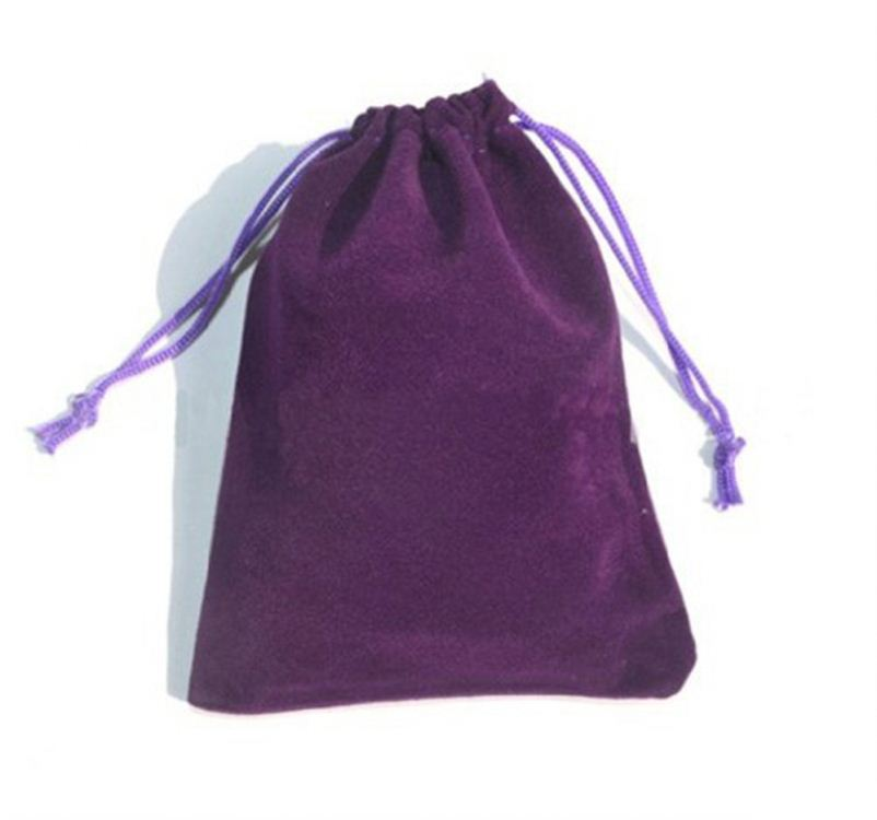 christmas velvet gift bags ,velour drawstring jewelry pouches oem/odm service