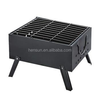 Mini Portable Bbq Charcoal Grill Square