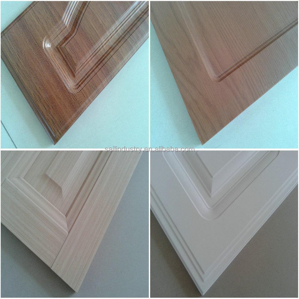 Pvc Kitchen Cabinet Doors: Used Wooden Pvc Vacuum Mdf Kitchen Cabinet Door