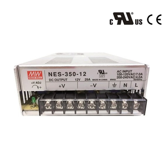 110v/220v ac input 24 volt dc output 120w meanwell switching mode power supply