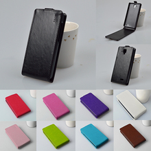 Luxury PU Leather Case Cover For Lenovo A536 A358T Mobile Phone Case Original Vertical Flip Back Cover Protector Shell Housing
