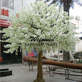 White Cherry Blossom Tree Peach For Wedding Decoration
