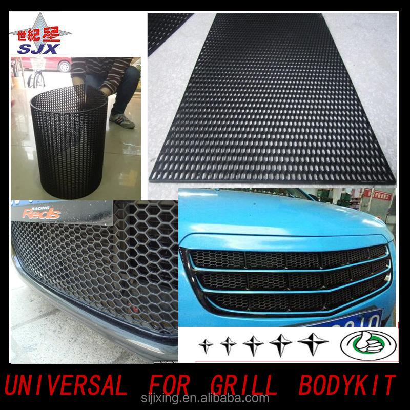 UNIVERSAL CAR MESH GRILL GRILLE BUMPER BODY KIT  A