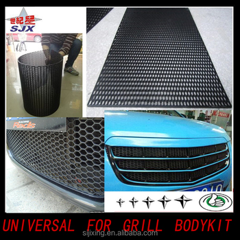 Factory Direct Sale Abs Plastic Ont Mesh Grill/high Quality Decorative  Light Mesh Grille For Universal Cars - Buy Mesh Grille For  Universal,Universal