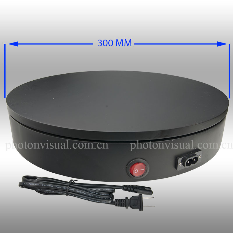 Motorized Photography Turntable