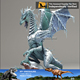 MY Dino-C072 High Quality Dragon 3d Model for Sale