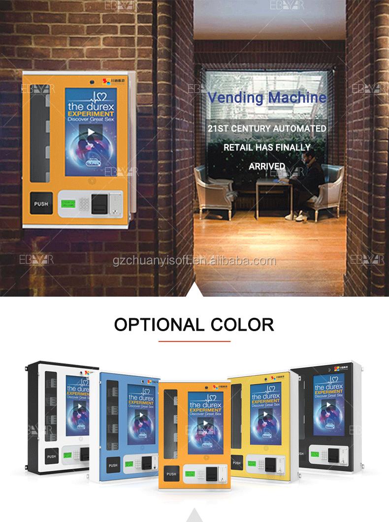 Cartão de crédito pagar Online tamanho mini distribuidor da máquina de venda automática com preço baixo