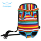 Wholesale Striped Pet Backpack or Adjustable Striped Pet Dog Cat Front Carrier Backpack Bag For Outdoor Travel