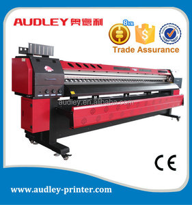 outdoor and indoor printer solvent ink pvc 3.2m flex printing machine price