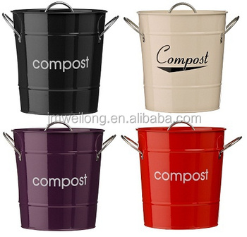 Worktop Compost Bin With Liner - Cream - Buy Kitchen Compost Bin,Recycling  Bins With Wheels,Metal Compost Bins Product on Alibaba.com