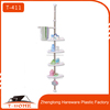 stainless steel adjustable bathroom corner shelf