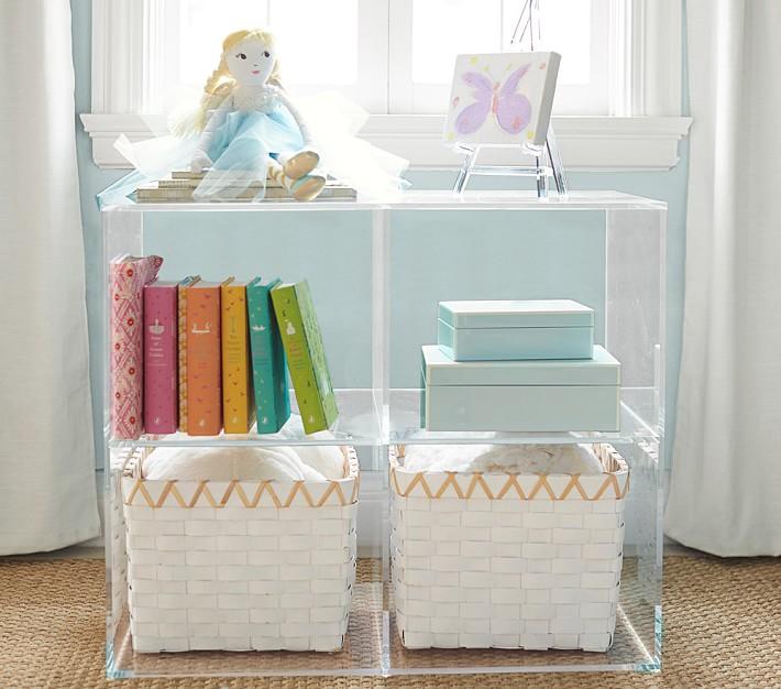 Acrylic Bookcase Pottery Barn KidsLucite Bookshelf