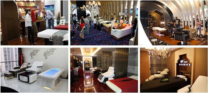 High Quality Beauty Salon Furniture Thai Massage Bed