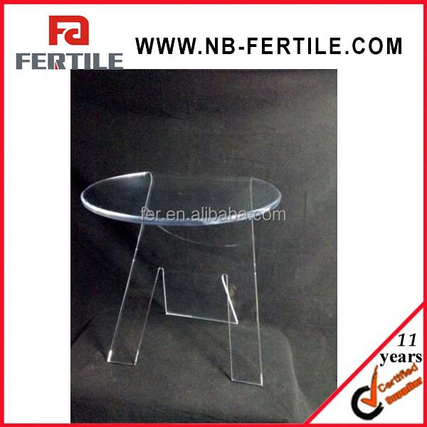 2015 new Clear Acrylic Lucite Art Deco End Side Table