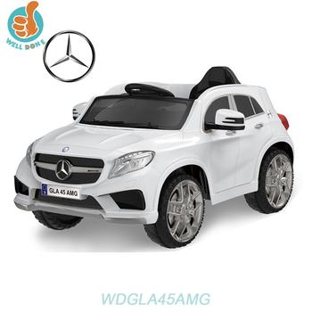 Wdhtgla45 Licensed Mercedes Benz Gla45 Amg New Cars 2016 With Led Light Music Fashion Toy