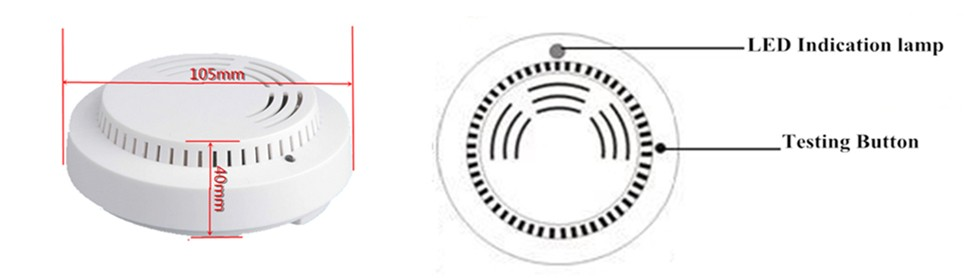 Wireless Smoke Detector EB-119