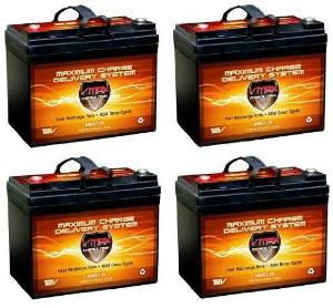 SPS Brand 12V 35Ah SLA Replacement Battery for Pride Mobility Jazzy 1113 ATS U1 2 Pack