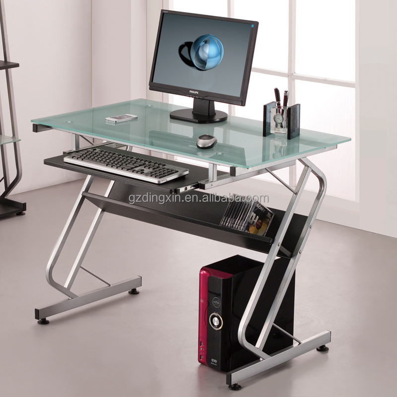 Mobile Compact Complete Computer Workstation Desk Color